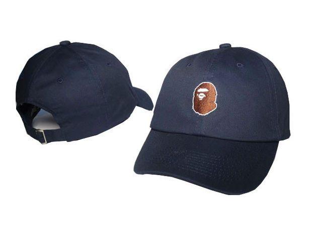 04f9a12774a A BATHING APE Fashion Baseball Cap BAPE Men s Snapback Embroidered Hip-Hop  Adjustable Hat New Women s Sports Casquette Snap Back Blue Cap