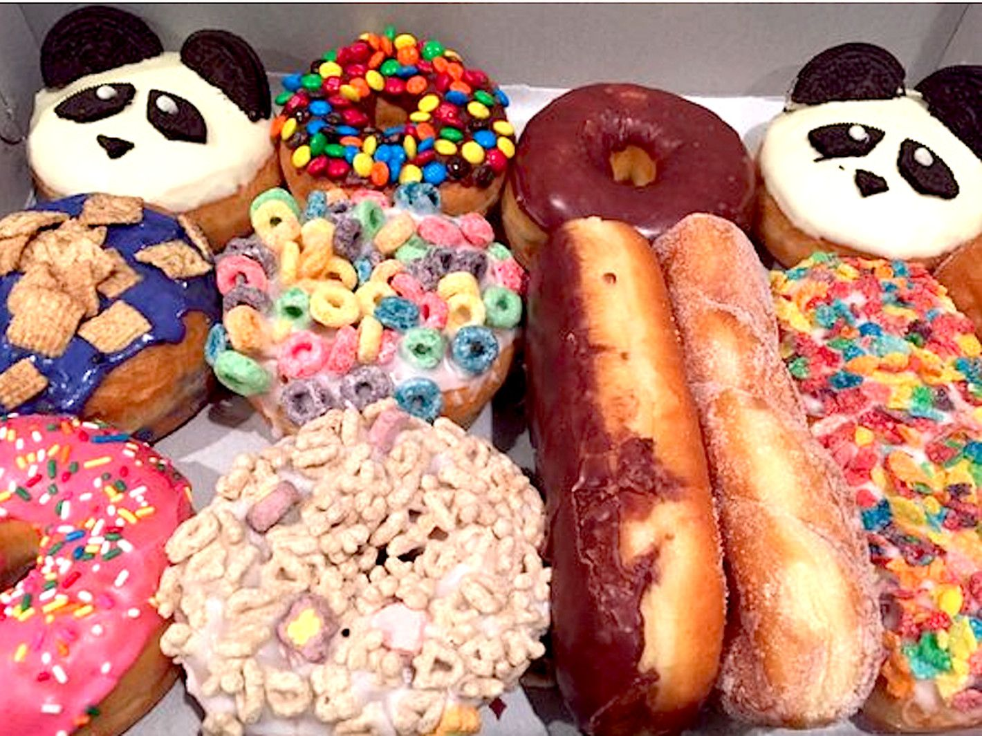 Las 14 best doughnut shops california donuts donut