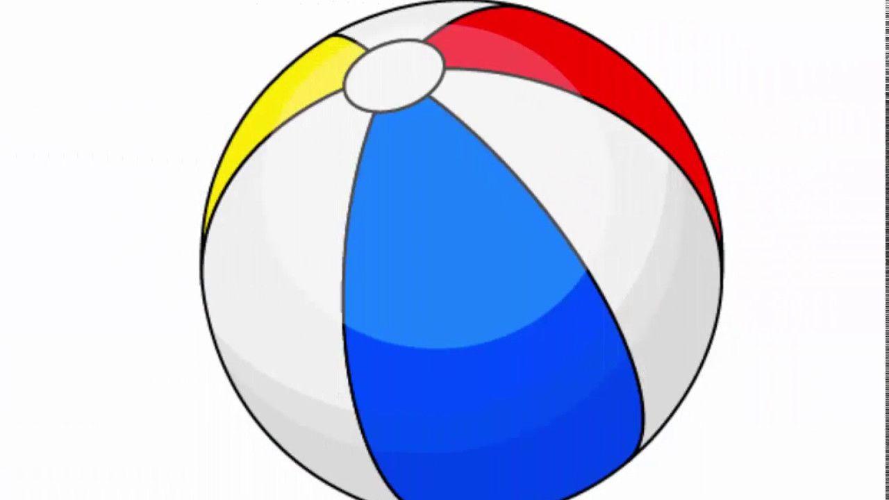 Beach ball - Adobe Illustrator cs6 tutorial. How to draw ...