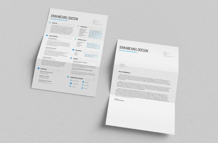 免費設計感履歷表版型下載 » ㄇㄞˋ點子靈感創意誌 Resume design - free beautiful resume templates