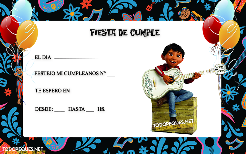 Kit Imprimible de Coco Disney descarga gratis   Todo Peques   fiesta ...