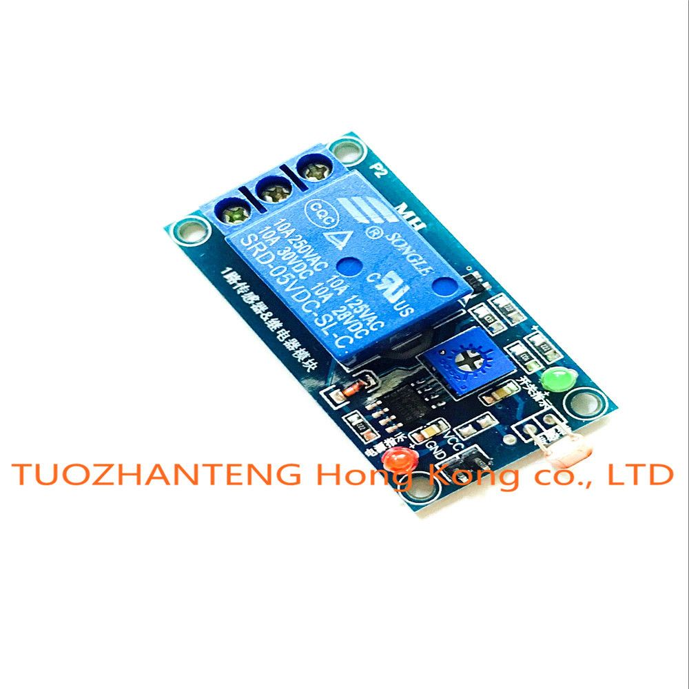 5v Light Photoswitch Sensor Switch Ldr Photoresistor Relay Module Circuit Detection Photosensitive Board Affiliate