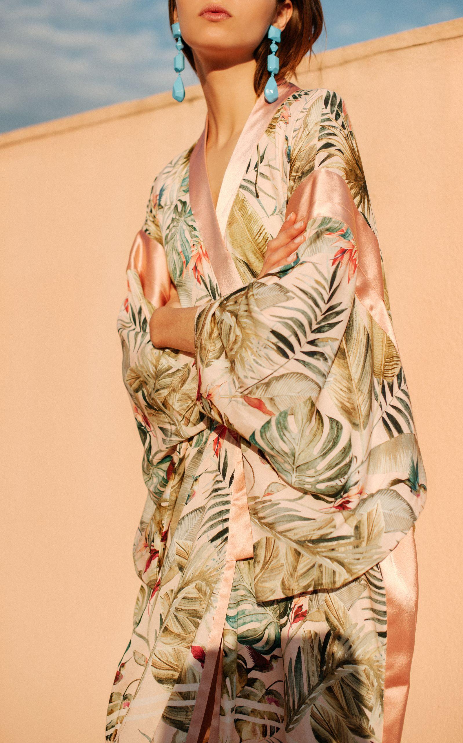 Photo of Shiba Printed Kimono by Tatjana Anika | Moda Operandi