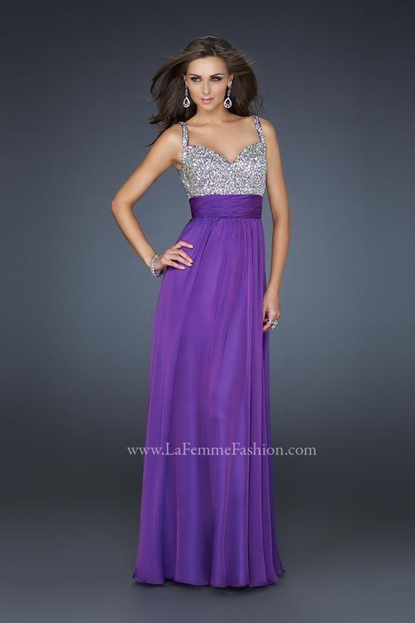 Colección de Vestidos de Fiesta de La Femme 2012 | vestidos fiesta ...