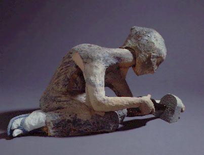 Arthur Gonzalez, Quiet Time | Ceramic wall sculpture