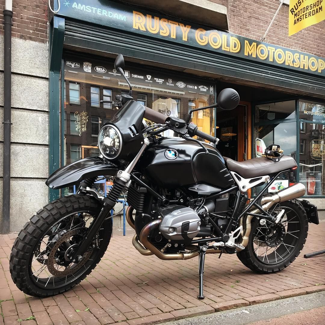 The Bmw R Ninet Urban G S Doesnt Look Bad In Black Not Bad At All