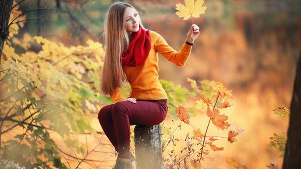 صور بنات الفيس بوك الجديدة Blonde Girl Autumn 4k صور بنات كيوت Mini Dress With Sleeves Long Hair Styles Womens Grey Sweater