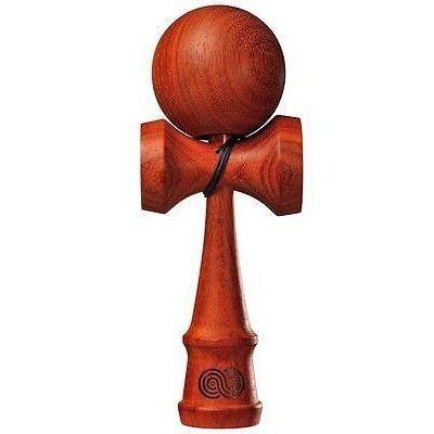 Kendama USA Kaizen Padauk Wood Natural Wooden Skill Toy KZN201 NEW