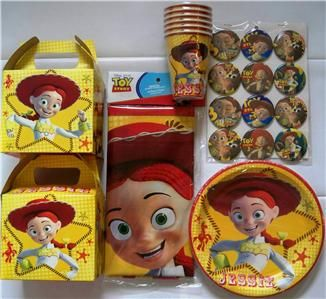 Jessie Theme Party Supplies Toy Story Jessie Party 12 Lunch