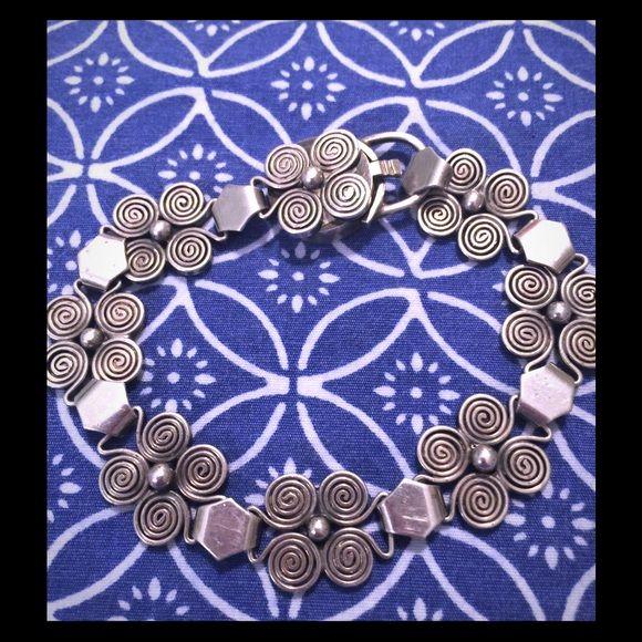 Bracelet Old sterling silver bracelet.  Very pretty. Jewelry Bracelets