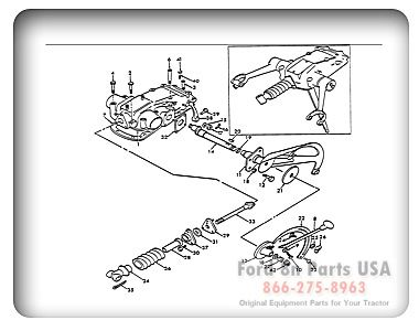 Parts For Your Ford 8n Tractor With Diagrams Old Tractors