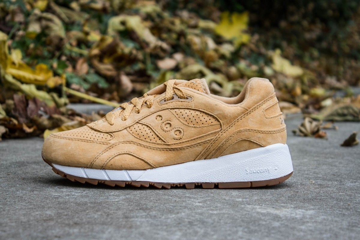 SAUCONY SHADOW 6000 SUEDE WHISKEY www.cornerstreet.fr