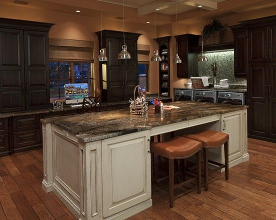 Use terracotta color for astounding ambiance traditional for Kitchen designs by clay
