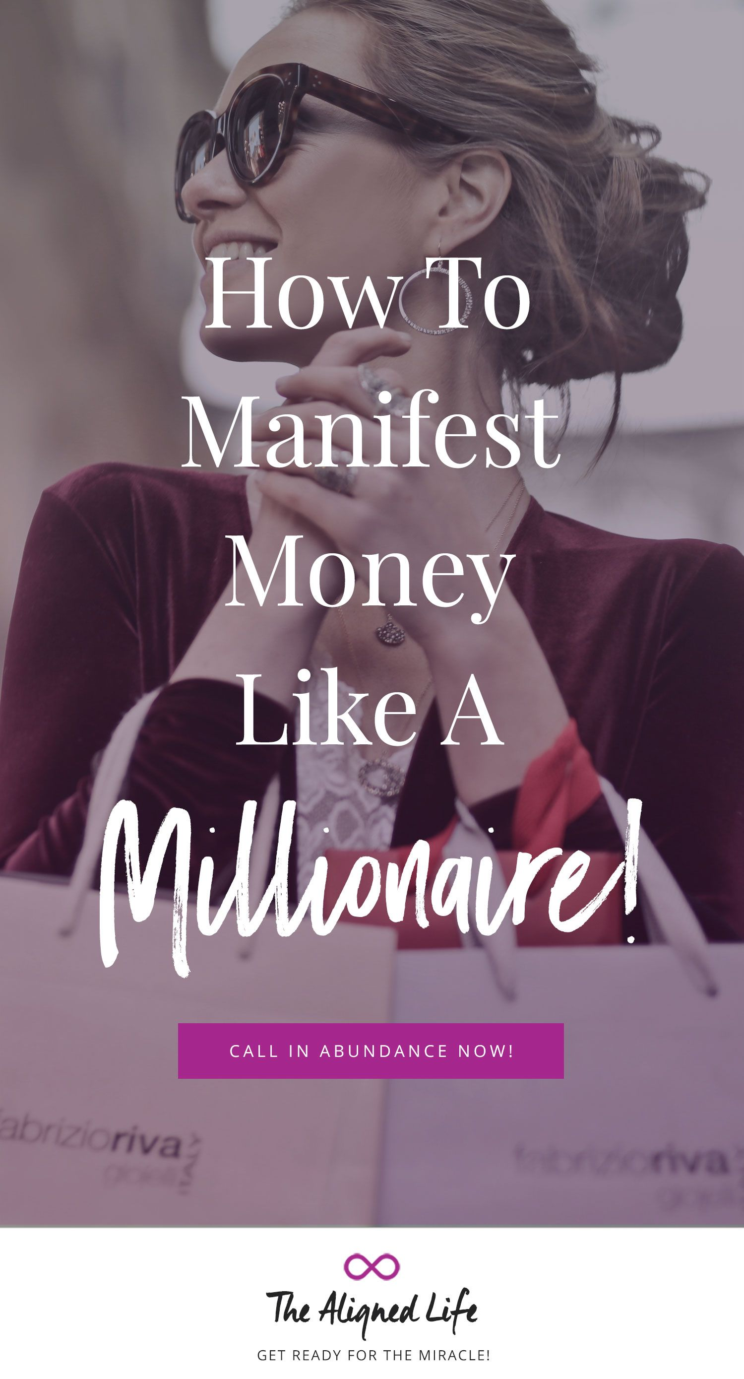 How to manifest money like a millionaire law of