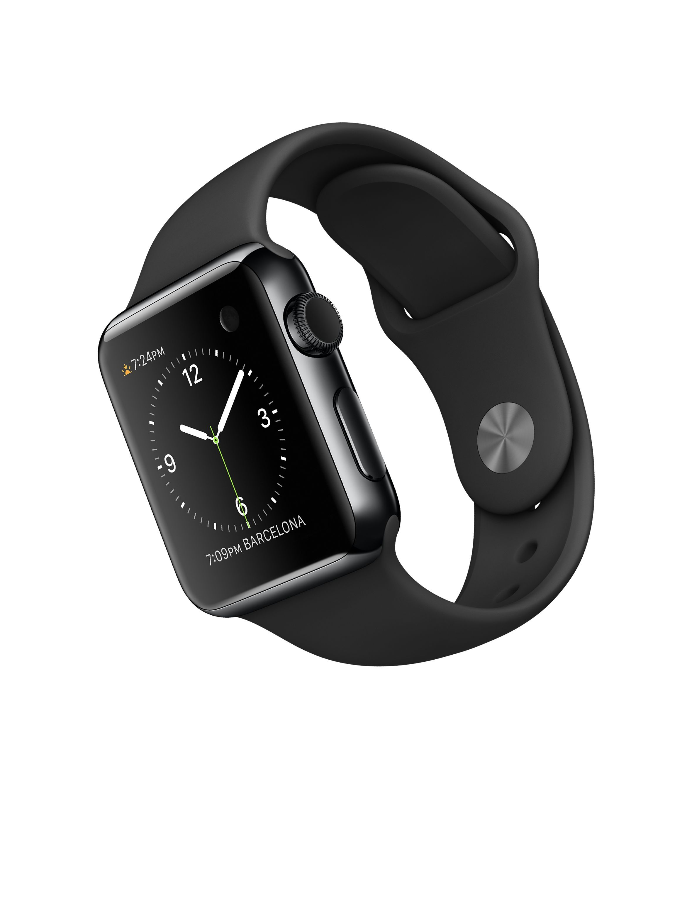 Apple Watch 38mm Space Black Stainless Steel Case with