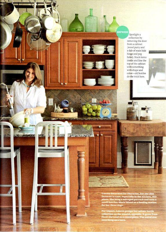 How To Brighten Up A Dark Wood Kitchen Quick Tip For Lightening Up A Dark Kitchen Emily A Clark Stained Kitchen Cabinets Dark Kitchen Dark Wood Kitchen Cabinets