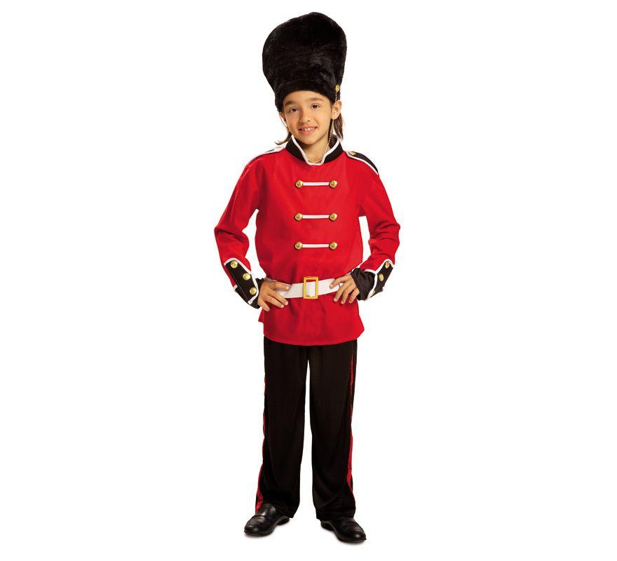 El disfraz de guardia inglesa para niño d995717c36fc