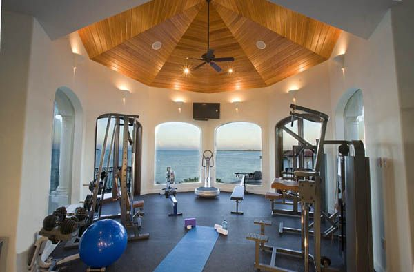Unbelievable Private Island Estate In Turks Caicos Home Gym Design Home At Home Gym