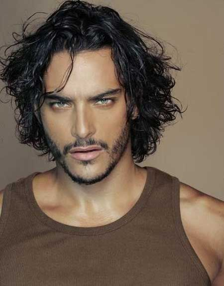 Amazing 1000 Images About Wavy Hair Styles Men On Pinterest Men With Short Hairstyles Gunalazisus
