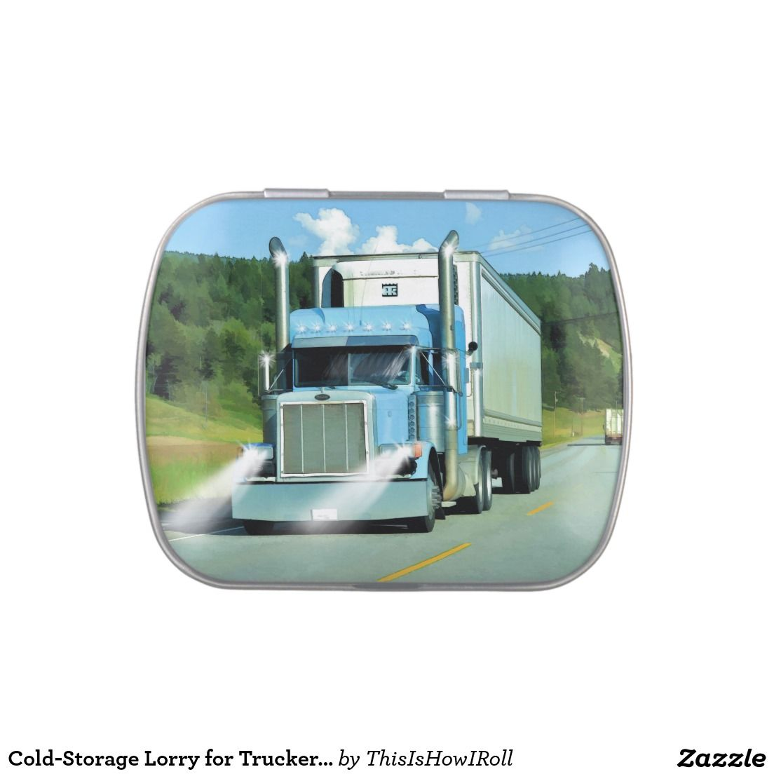 Cold-Storage Lorry for Truckers u0026 Truck-lovers  sc 1 st  Pinterest & Cold-Storage Lorry for Truckers u0026 Truck-lovers | All Aboard For ...