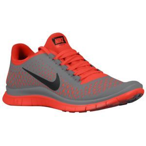 buy online 03714 9107b Nike Free Run 3.0 V4 - Men s - Running - Shoes - Stealth Black University  Red