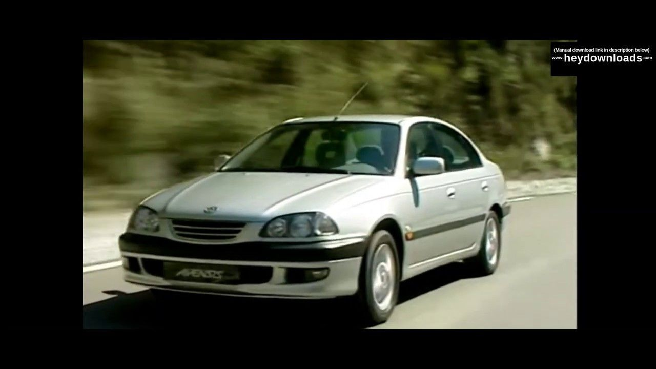 Toyota Avensis 2002 2007 Service Repair Manual Pdf Download Toyota Avensis Repair Manuals Toyota
