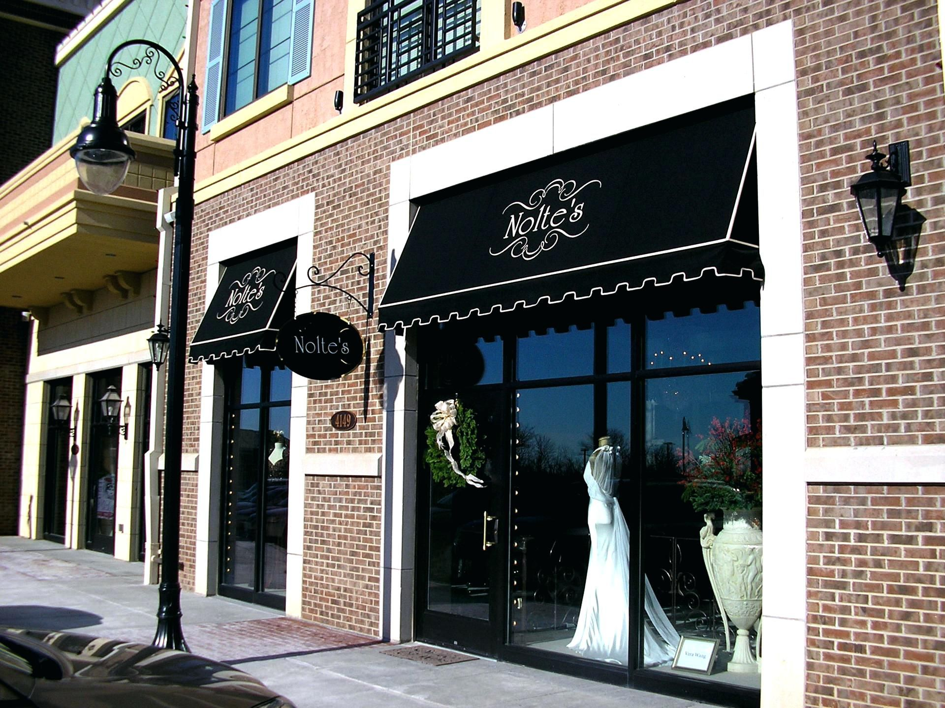 Business Awning And Canopies Storefront Awnings Commercial