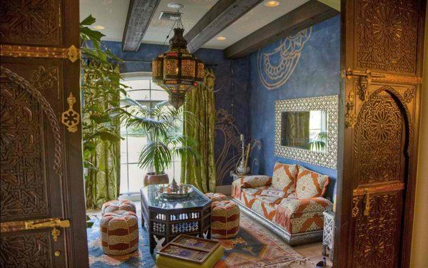 15 Outstanding Moroccan Living Room Designs images