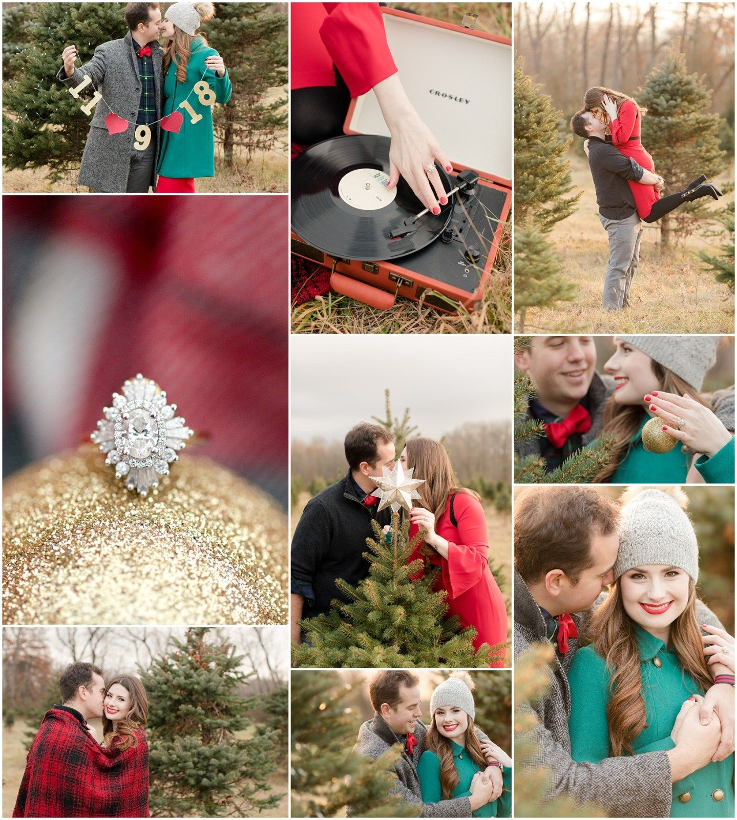 Christmas Tree Farm Engagement Photos With Images Christmas Engagement Photos Farm Engagement Photos Christmas Tree Farm