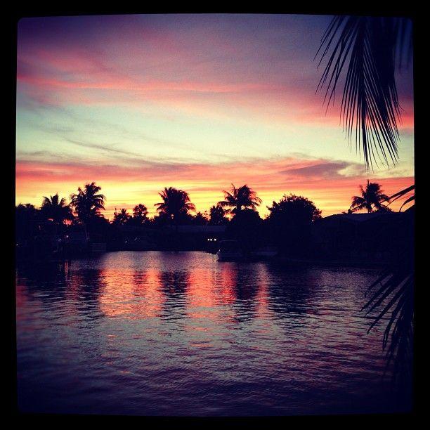 S Fla sunset