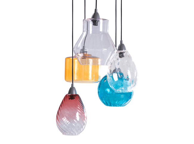 Ilaria Cluster Light Multi Coloured