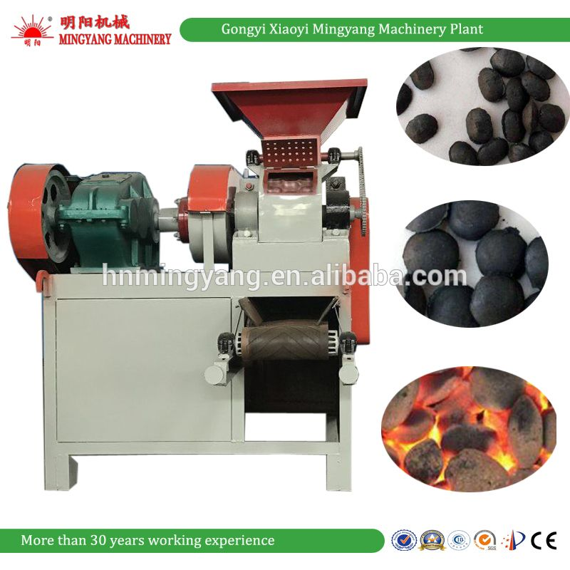 Factory Shisha charcoal powder briquette machine /coke fines