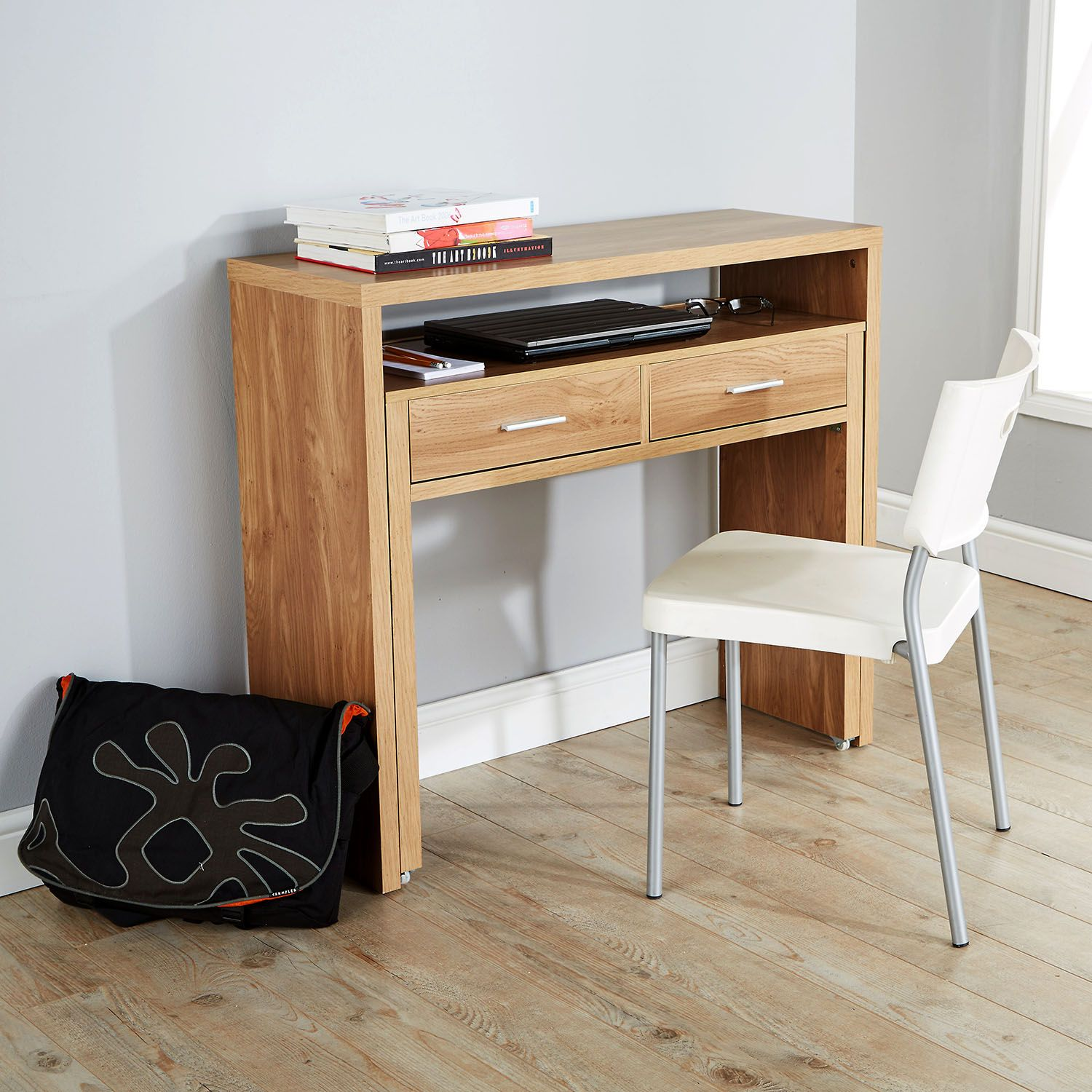 Regis Hideaway Console Desk  Next Day Delivery Regis Hideaway Console Desk  from WorldStores: Everything