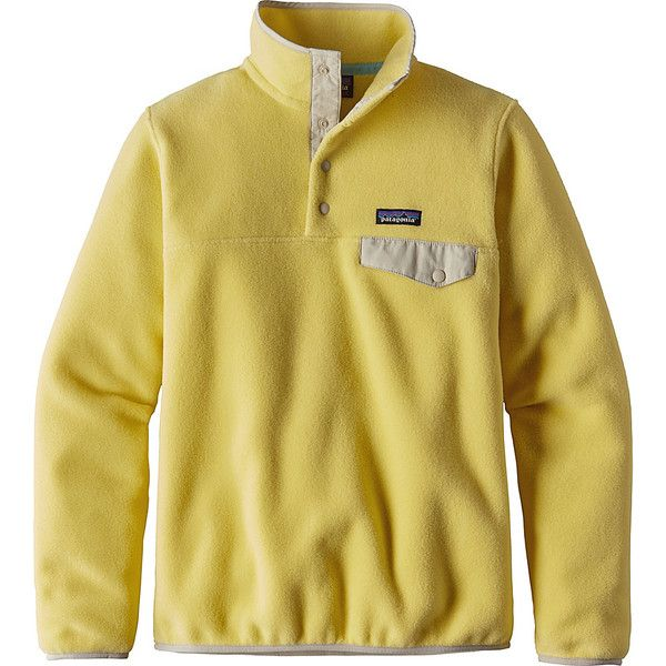 Patagonia Womens Lightweight Synch Snap-T Pullover ($99) ❤ liked ...