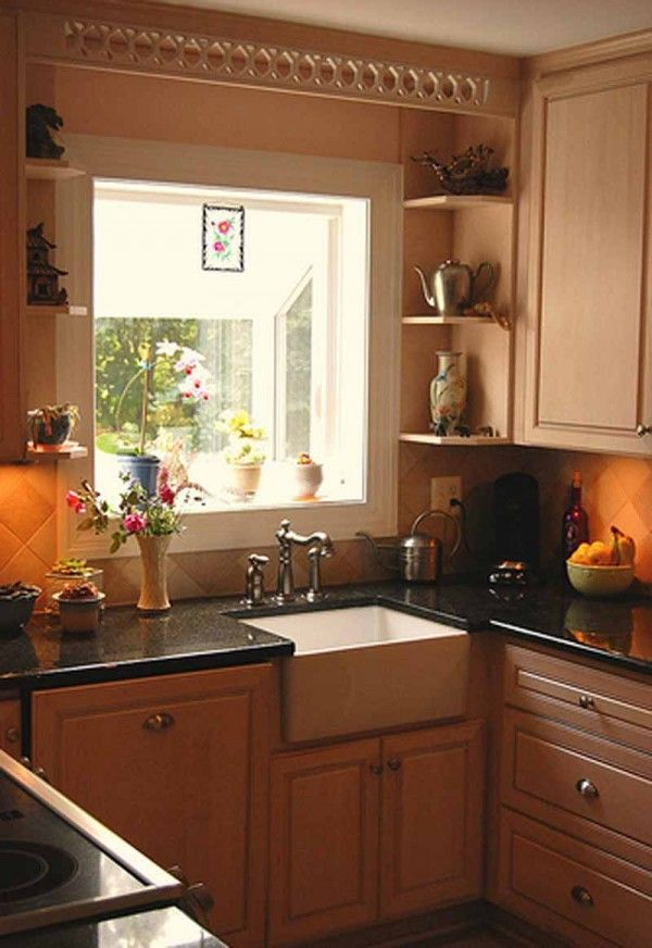 Awesome Small Home Kitchen Design Ideas Part - 6: Small-Kitchen-Design-impressive-arrangement-for-elegance-astonishing-