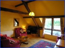 Winsford Cottage's sitting room area.