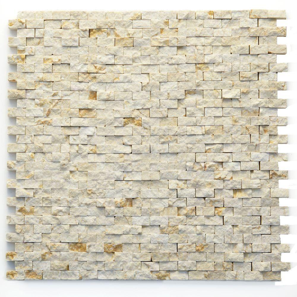 Wall Stone X Modern Opera 12 Natural Marble Mosaic Tile 12 Solistone