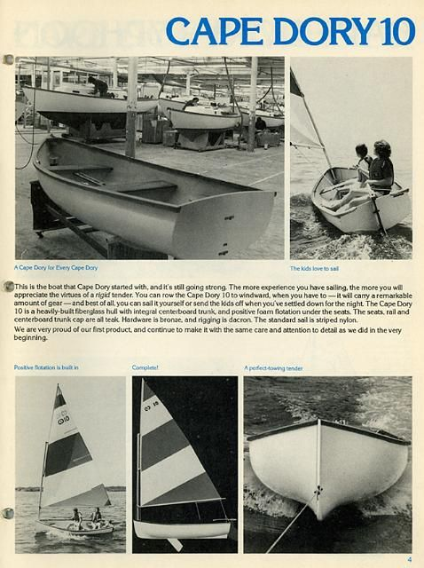 cape dory 10   Sailboats - Dinghies in 2019   Dory, Sailing