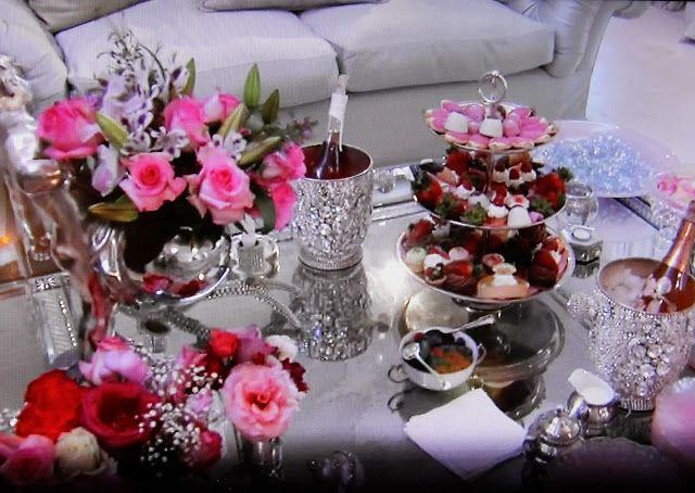lisa vanderpump table settings - Bing Images