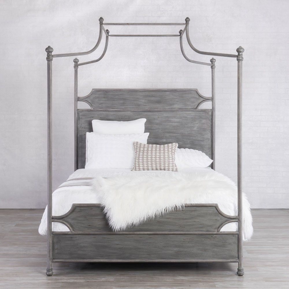 Wesley Allen Lansing Iron Canopy Bed with Surround by Humble Abode available in dozens of & Wesley Allen Lansing Iron Canopy Bed with Surround by Humble Abode ...