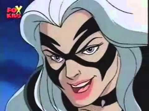 Spiderman the Animated Series - THE BLACK CAT | Black Cat ...