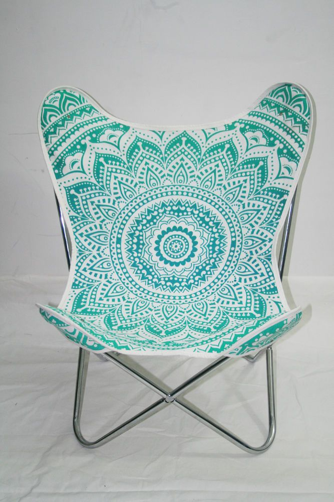 Butterfly Chair With Cover Modern Furniture Seat Living Room Metal Best Handmade Modern Furniture