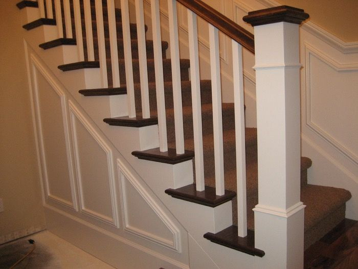 Bertram Blondina Handrail And Stair Craftsman Style Stairs