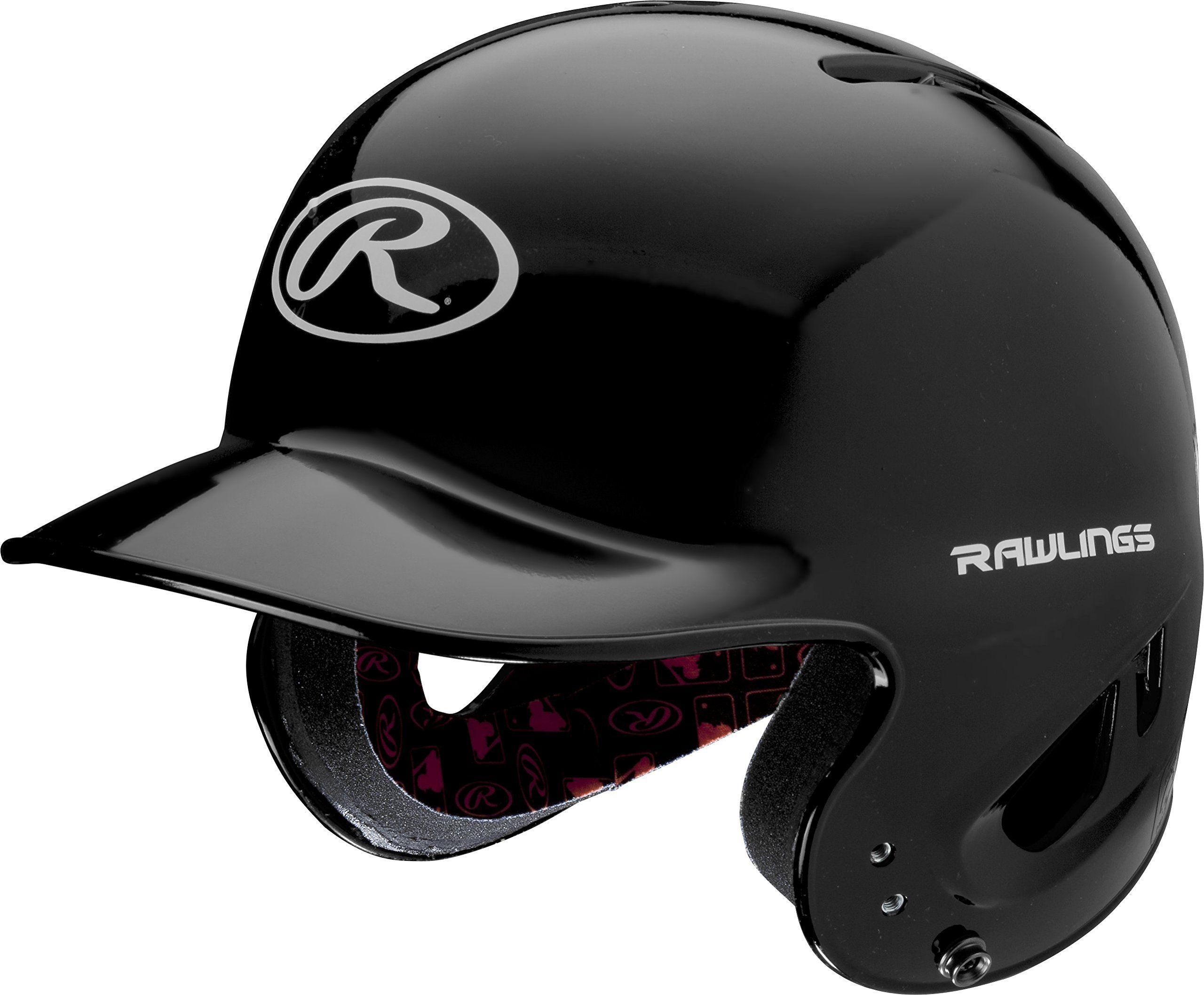 Rawlings Mlb Inspired Nocsae T Ball Clear Coat Batting Helmet Baseball Helmet Baseball T Shirt Designs Youth Baseball Gloves