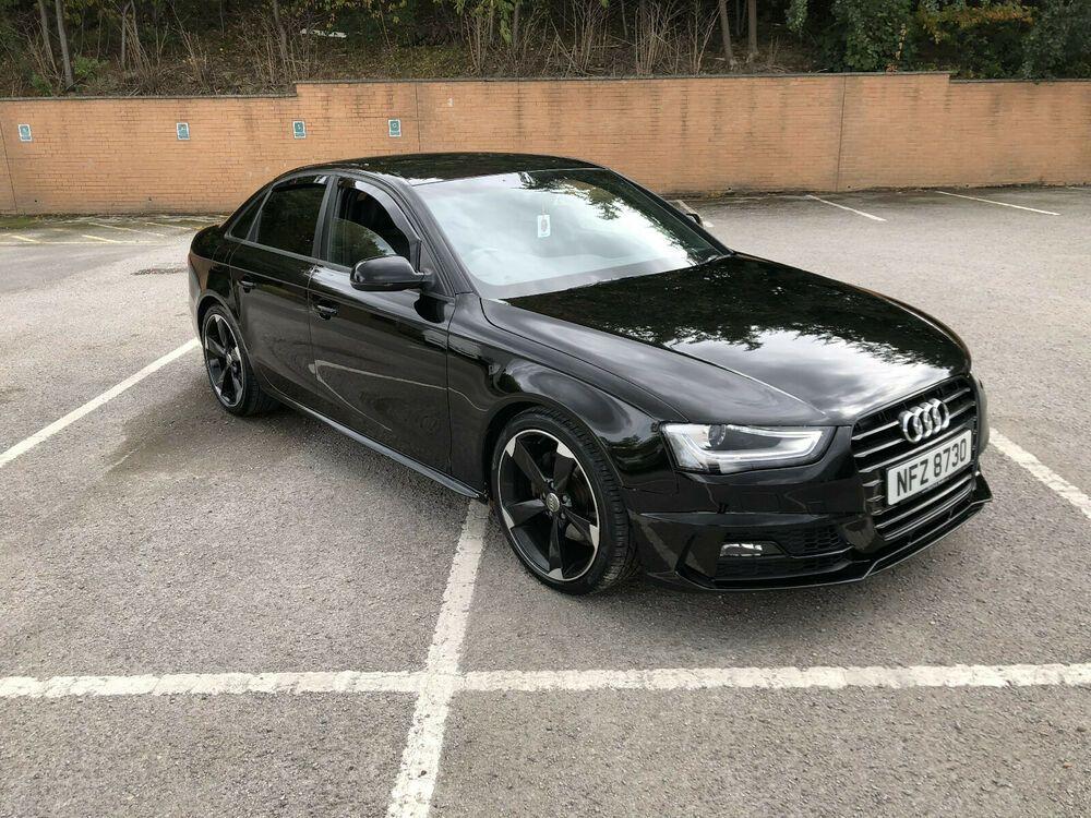 Audi A4 2 0 Tdi 177 Black Edition Quattro S Line 59k Manual 2013 B8 5 Facelift Black Audi Audi A4 Audi S4