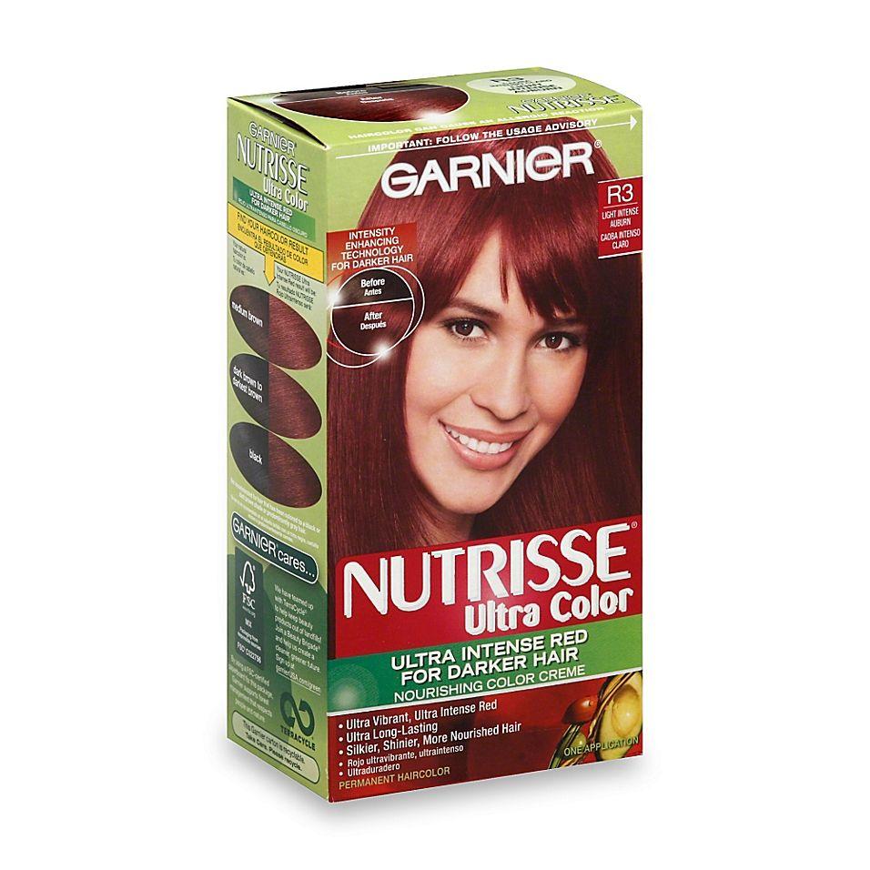 Garnier Nutrisse Ultra Color Nourishing Color Crème In R3 Light Intense Auburn Gallery
