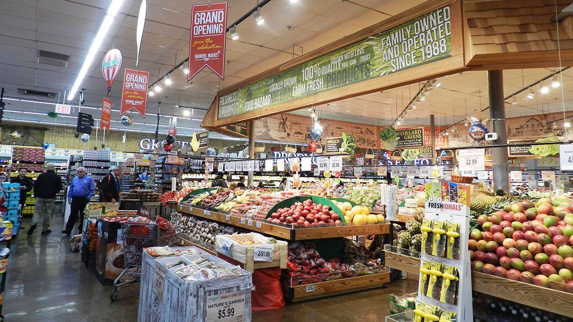 Gallery food bazaar debuts new smallstore concept