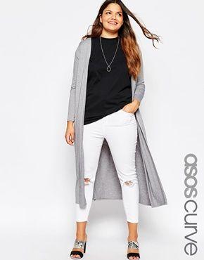 ASOS CURVE Longline Maxi Cardigan | Clothes | Pinterest | Maxi ...