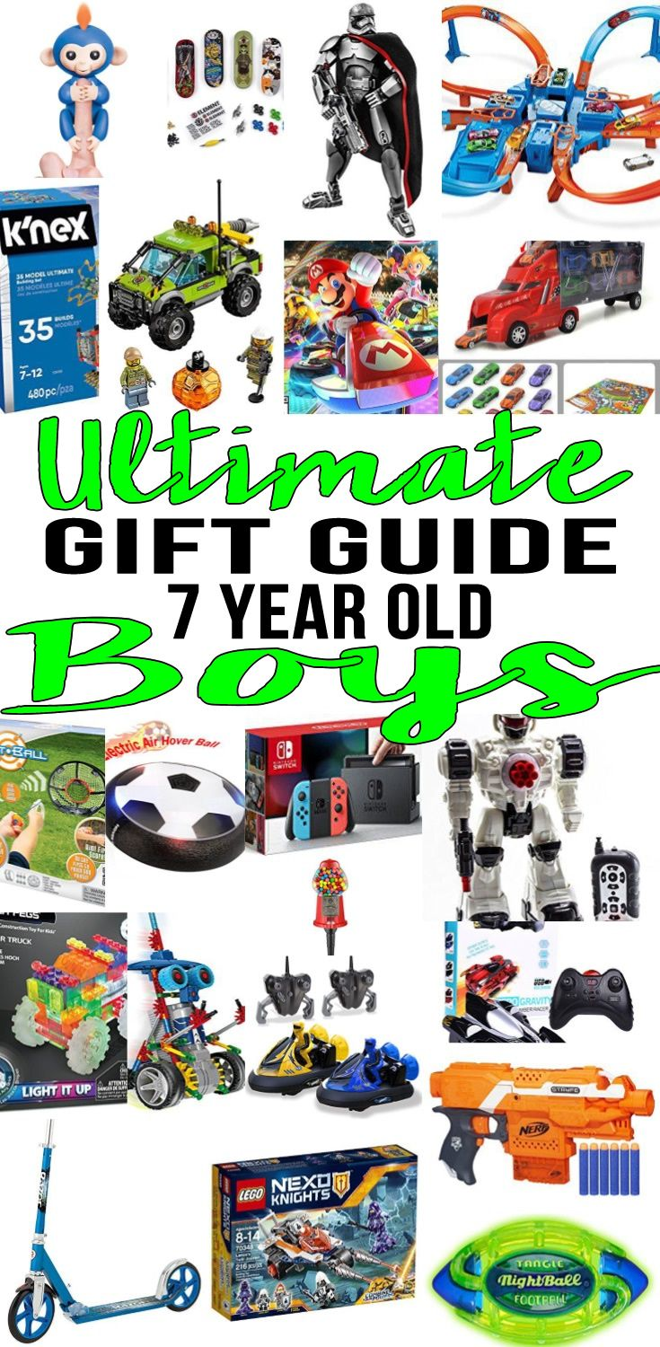 Best Gifts For 7 Year Old Boys Gift Guides Christmas And Birthday