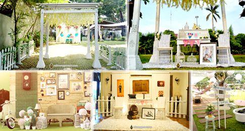 Dekorasi Vintage Ide Menarik Untuk Pernikahanmu Pameran Pernikahan Indonesia 2015 Wedding Expo Jakarta Pernikahan Ide Dekorasi